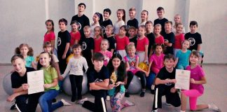 Коллектив спортивного танца «Нью денс» - руководитель Ботаненко С.Л. ДДТ город Белово