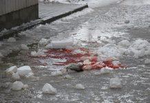 В Белове глыба льда упавшая с крышы убила пенсионерку