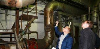 Глава Белово Алексей Курносов проверяет котельные
