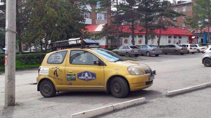Участники Mongol Rally 2017 в Белове