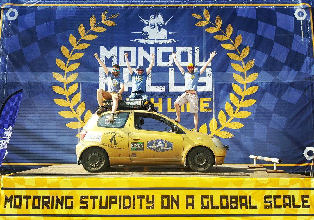 Mongol Rally 2017